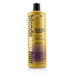 Sexy Hair Concepts Blonde Sexy Hair Sulfate-Free Bright Blonde Shampoo (For Blonde, Highlighted and Silver Hair)  1000ml/33.8oz
