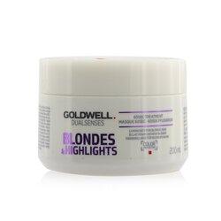 Goldwell Dual Senses Blondes & Highlights 60Sec Treatment (Luminosity For Blonde Hair)  200ml/6.8oz