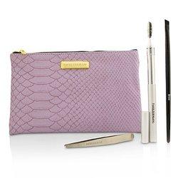 Tweezerman Brow Beauty Essentials Kit  3pcs+1bag
