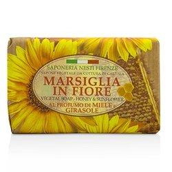 Nesti Dante Marsiglia In Fiore Vegetal Soap - Honey & Sunflower  125g/4.3oz