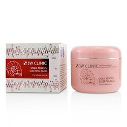 3W Clinic Snail Mucus Sleeping Pack  100ml/3.3oz