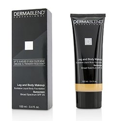 Dermablend Leg and Body Make Up Buildable Liquid Body Foundation Sunscreen Broad Spectrum SPF 25 - #Light Sand 25W (Exp. Date 11/2018)  100ml/3.4oz