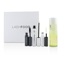 LashFood LashFood Lash Transformation System: (1x Eyelash Enhancer, 1x Lash Primer, 1x Mascara, 1x Eye Makeup Remover)  4pcs