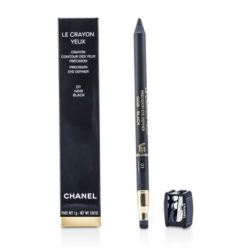 Chanel Kredka do oczu Le Crayon Yeux - No. 01 Noir  1g/0.03oz