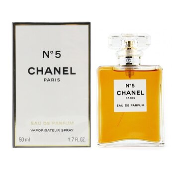 Chanel No.5 Eau De Parfum Semprot  50ml/1.7oz
