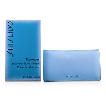 Shiseido Pureness Oil-Control Blotting Paper - Papel secante anti-brillos  100sheets