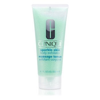 Clinique Sparkle Ekspoliator Kulit Tubuh  200ml/6.7oz