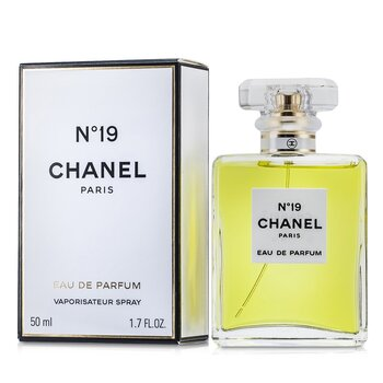 Chanel No.19 Eau De Parfum Spray-Cristal Bottle  50ml/1.7oz
