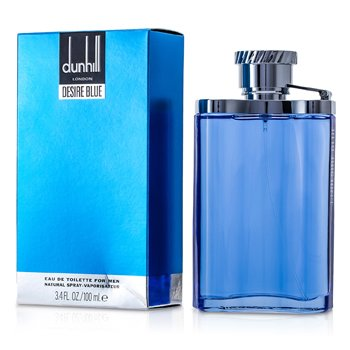 Dunhill Desire Blue Eau De Toilette Spray  100ml/3.3oz