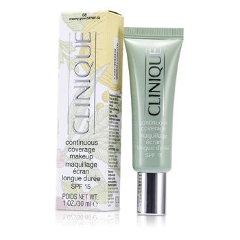Clinique Continuous Coverage Spf15 - No. 08 Cremey Glow  30ml/1oz