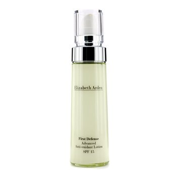 Elizabeth Arden First Defense Loci�n Avanzada Anti-Oxidante SPF 15  50ml/1.7oz
