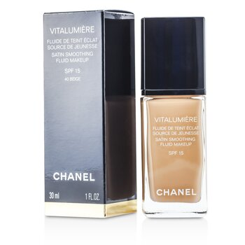 Chanel Vitalumiere Fluide Makeup # 40 Beige  30ml/1oz