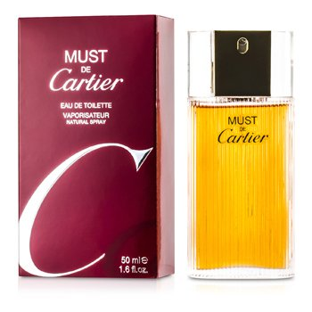 Cartier Must De Cartier Eau De Toilette Spray  50ml/1.7oz