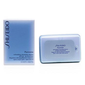 Shiseido Pureness erfrischendes reinigendes  Tuch  30pcs