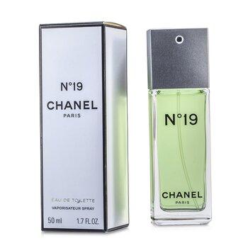 Chanel No.19 Eau De Toilette Semprot Tidak Dapat Diisi Ulang  50ml/1.7oz