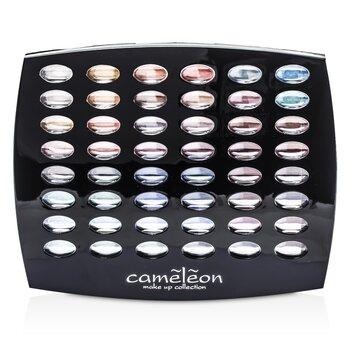 Cameleon MakeUp Kit G1665 : 48xEyeshadow, 4xBlush, 6xLipgloss, 4xBrush
