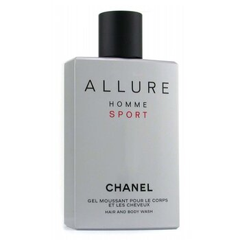 Chanel Sabonete Líquido Allure Homme Sport Hair & Body Wash (Feito nos USA)  200ml/6.8oz