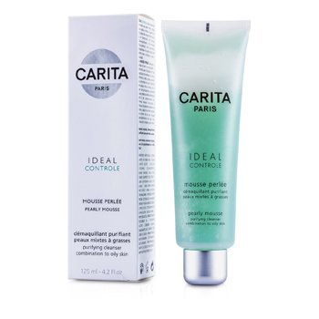 Carita Ideal Controle Pearly Mousse (Combination to Oily Skin)  125ml/4.2oz