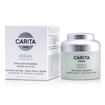 Carita Ideal Controle Powder Emulsion (Combination to Oily Skin)  50ml/1.69oz