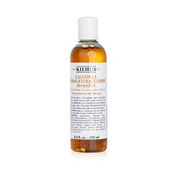 Kiehl's Calendula Herbal Extract Alcohol-Free Desmaquilladora ( Piel Normal/Grasa )  250ml/8.4oz