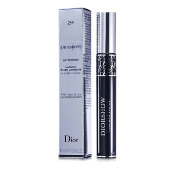 Christian Dior Diorshow Mascara Waterproof - # 258 Azure Blue  11.5ml/0.38oz