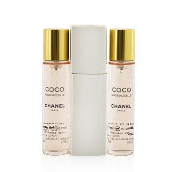 Chanel Coco Mademoiselle Twist & Dạng Xịt Eau De Toilette  3x20ml/0.7oz