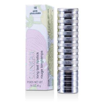 Clinique Long Last -huulipuna- No. 16 Pink Chocolate ( pehmeä mattapinta )  4g/0.14oz