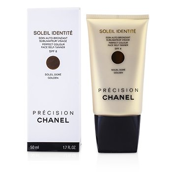 Chanel Precision Soleil Identite Perfect Colour Autobronzant Facial SPF 8 - Auriu ( Auriu )  50ml/1.7oz