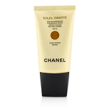 Chanel Precision Soleil Identite Perfect Colour Autobronzant Facial SPF 8 - Intens ( Bronz )  50ml/1.7oz