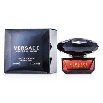 Versace Crystal Noir Eau De Toilette Spray  50ml/1.7oz