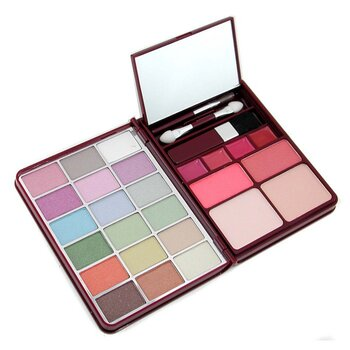 Cameleon MakeUp Kit G0139-1 : 18x Eyeshadow, 2x Blusher, 2x Pressed Powder, 4x Lipgloss
