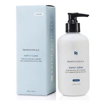 Skin Ceuticals Simply Clean Gel Limpiador Refinidor de Poros (Para Piel Mixta/Grasa)  240ml/8oz