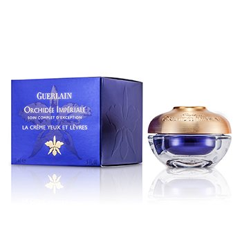 Guerlain Orchidee Imperiale Exceptional Complete tratamento p/ os olhos e para lábios  15ml/0.5oz