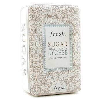 Fresh Sugar Lychee Jabón  200g/7oz
