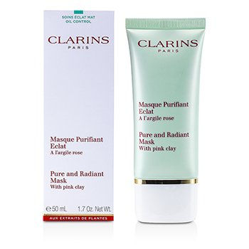 Clarins Truly Matte Pure & Radiant Mask With Pink Clay  50ml/1.7oz