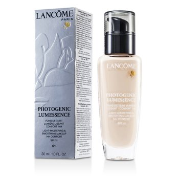 Lancome Photogenic Lumessence Light Mastering Smoothing Makeup SPF15 - # 01 Beige Albatre  30ml/1oz
