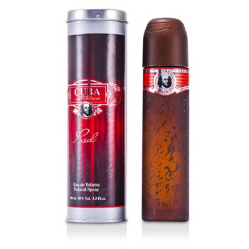 Cuba Cuba Red Eau De Toilette Spray  100ml/3.4oz
