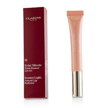 Clarins Eclat Minute Instant Light Natural Lip Perfector - Perfeccionador Labial Instantáneo # 02 Apricot Shimmer  12ml/0.35oz
