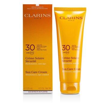 Clarins Crema Solar de Alta Protección SPF30 (Para Piel Sensible)  125ml/4.4oz