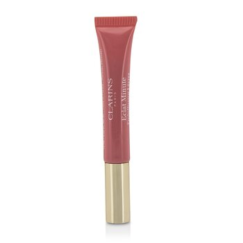 Clarins Eclat Minute Instant Light Natural Lip Perfector - Brillo Labial Perfeccionador # 01 Rose Shimmer  12ml/0.35oz