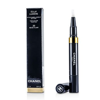 Chanel Caneta c/ corretivoEclat Lumiere Highlighter Face Pen - # 20 Beige Clair  1.2ml/0.04oz