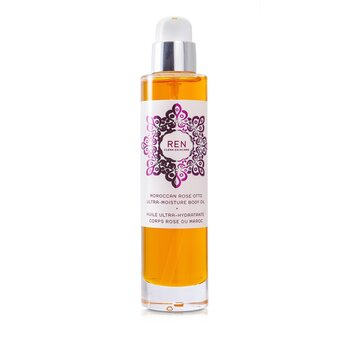 Ren Moroccan Rose Otto Ultra Moisture Body Oil  100ml/3.3oz
