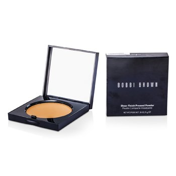 Bobbi Brown Sheer Finish Bedak Padat - # 04 Basic Brown  11g/0.38oz
