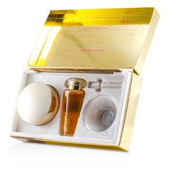 J. F. Lazartigue Home Spa Essential Duo with Bancoulier Oil: Essential Hair Cream 200ml + Serum 100ml  3pcs