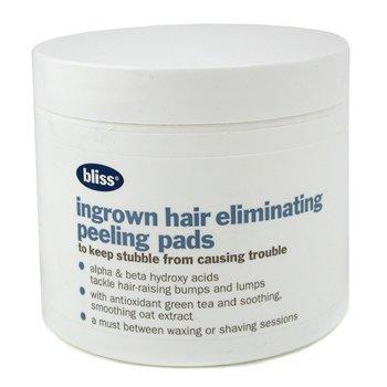 Bliss Compressas esfoliante p/ retirar pelo encravado Peeling ( Fora da caixa )  50pads