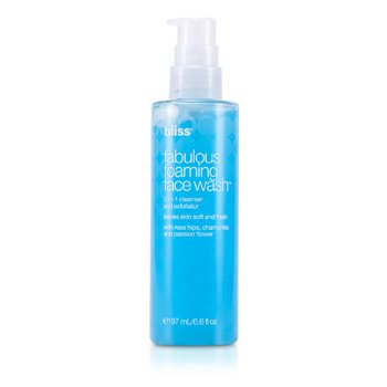 Bliss Fabulous Foaming Face Wash  197ml/6.6oz