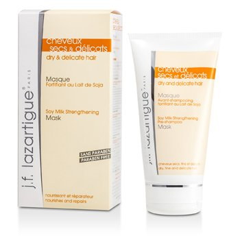 J. F. Lazartigue ماسک تقویت کننده مو قبل از شامپو - حاوی شیر سویا  150ml/5.07oz