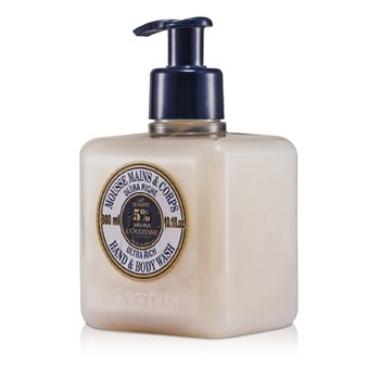 L'Occitane Shea Butter Ultra Rich Hands & Body Wash  300ml/10.1oz