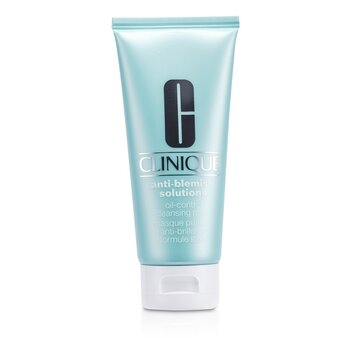 Clinique Mascara facial de limpeza anti manchas Solutions Oil-Control  100ml/3.4oz