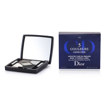 Christian Dior Estojo de Sombras 5 Color Designer All In One Artistry - No. 008 Smoky Design  4.4g/0.15oz